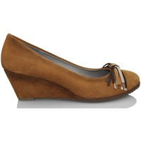 Schoenen Dames pumps Elia Bruni CROSTA CUERO MARRON
