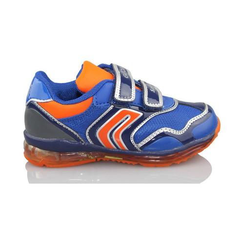 Schoenen Jongens Lage sneakers Geox B TODO DBK LUCES AZUL