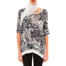 Textiel Dames Tunieken Nina Rocca Tunique Vanessa noir Zwart