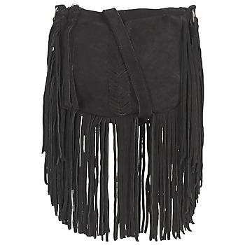 Tassen Dames Schoudertassen met riem Pepe jeans BELL Zwart