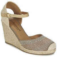 Schoenen Dames Sandalen / Open schoenen Spot on BERZI Taupe