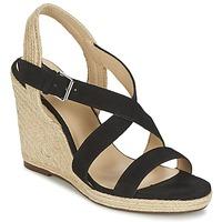 Schoenen Dames Sandalen / Open schoenen Jonak AQUAL Zwart