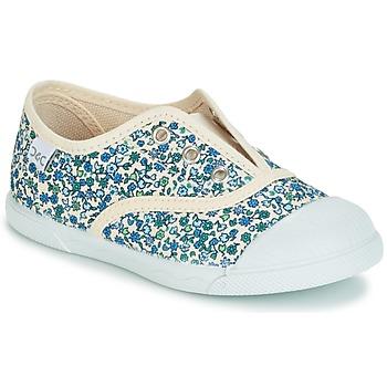 Schoenen Meisjes Lage sneakers Citrouille et Compagnie RIVIALELLE Blauw / Multi