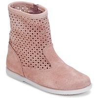 Schoenen Meisjes Laarzen Citrouille et Compagnie BOREAL Roze