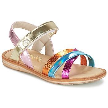 Schoenen Meisjes Sandalen / Open schoenen Citrouille et Compagnie MINIRAVI Multi