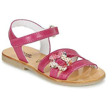 Schoenen Meisjes Sandalen / Open schoenen Citrouille et Compagnie CHOUPINETTE Fushia