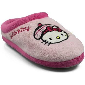 Schoenen Meisjes Sloffen Hello Kitty KAMELLE ROSA