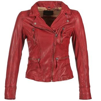 Textiel Dames Leren jas / kunstleren jas Oakwood 60861 Rood
