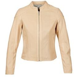 Textiel Dames Leren jas / kunstleren jas Oakwood 61848 Beige / Nude