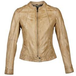 Textiel Dames Leren jas / kunstleren jas Oakwood 61712 Bruin