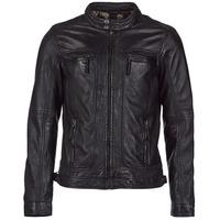 Textiel Heren Leren jas / kunstleren jas Oakwood 60901 Zwart