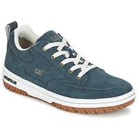 Schoenen Heren Lage sneakers Caterpillar DECADE SUEDE Blauw / Night