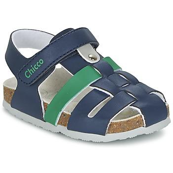 Schoenen Jongens Sandalen / Open schoenen Chicco HAMBRO Marine