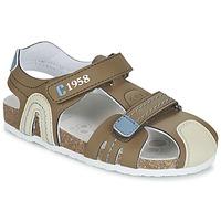 Schoenen Jongens Sandalen / Open schoenen Chicco HONEY Bruin