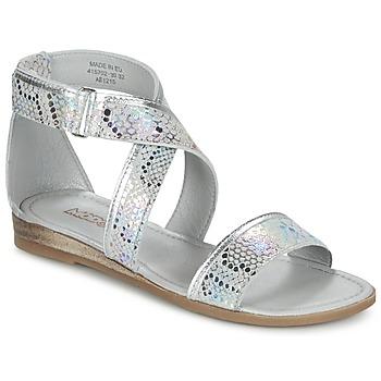 Schoenen Meisjes Sandalen / Open schoenen Mod'8 JOYCE Zilver