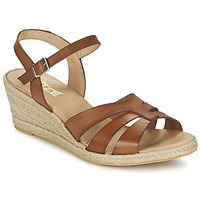 Schoenen Dames Sandalen / Open schoenen So Size ELIZA Bruin
