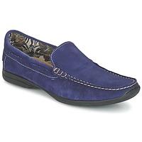 Schoenen Heren Mocassins So Size ELIJA Blauw