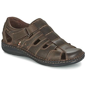 Schoenen Heren Sandalen / Open schoenen Casual Attitude ZIRONDEL Bruin