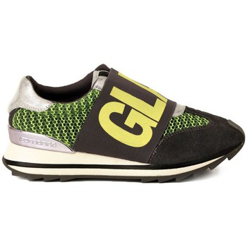 Schoenen Dames Lage sneakers Fornarina GREY YELLOW MESH     77,9