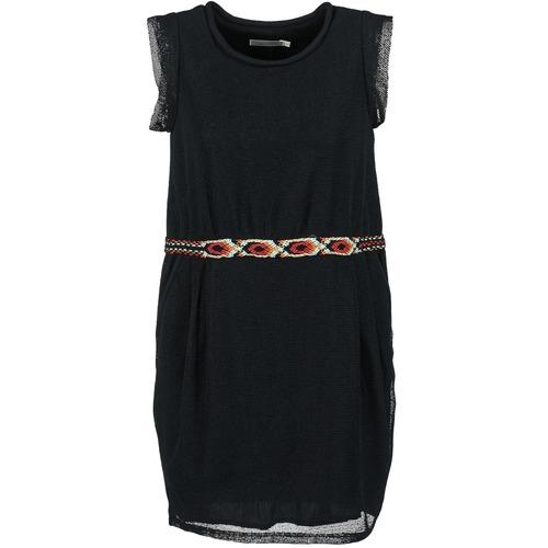 Textiel Dames Korte jurken See U Soon MOREPEN Zwart