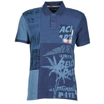 Textiel Heren Polo's korte mouwen Desigual BELUDINE Blauw