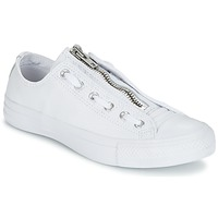 Schoenen Heren Lage sneakers Converse CHUCK TAYLOR ALL STAR MA-1 ZIP MILITARY LEATHER OX Wit