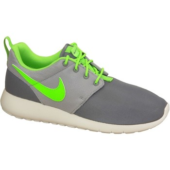 Schoenen Jongens Lage sneakers Nike Roshe One Gs 599728-025 Green,Grey,White