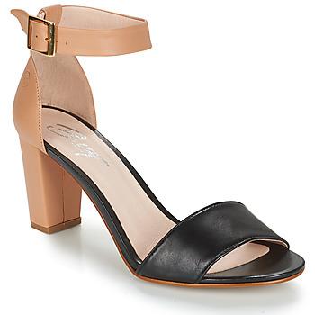 Schoenen Dames Sandalen / Open schoenen Betty London CRETA Nude / Zwart