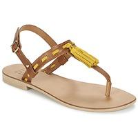 Schoenen Dames Sandalen / Open schoenen Betty London ELOINE Bruin / Geel