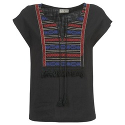 Textiel Dames Tops / Blousjes Betty London ETROBOLE Zwart
