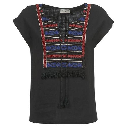 Textiel Dames Tops / Blousjes Betty London ETROBOLE Zwart