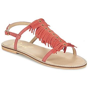 Schoenen Dames Sandalen / Open schoenen Ravel LEXINGTON Koraal