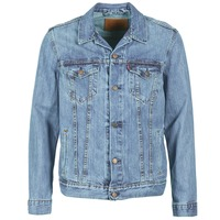 Textiel Heren Spijker jassen Levi's THE TRUCKER JACKET Icy / P4927