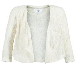 Textiel Dames Jasjes / Blazers Le Temps des Cerises ILONA Wit