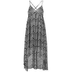 Textiel Dames Lange jurken Le Temps des Cerises LUNE Zwart / Wit
