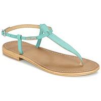 Schoenen Dames Sandalen / Open schoenen Les Tropéziennes par M Belarbi NARBUCK Turquoize