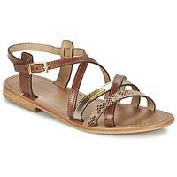 Schoenen Dames Sandalen / Open schoenen Les Tropéziennes par M Belarbi HAPAX Tan / Goud