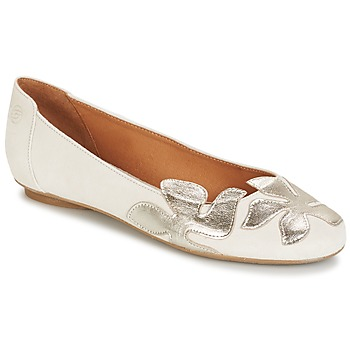 Schoenen Dames Ballerina's Betty London ERUNE Wit / Zilver