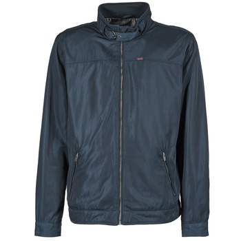 Textiel Heren Wind jackets Mustang LIGHT NYLON JKT Marine