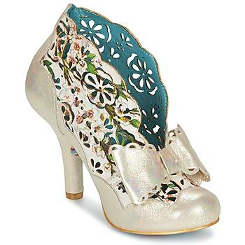 Schoenen Dames Low boots Irregular Choice SASSLE Iris / Beige / Bloemen
