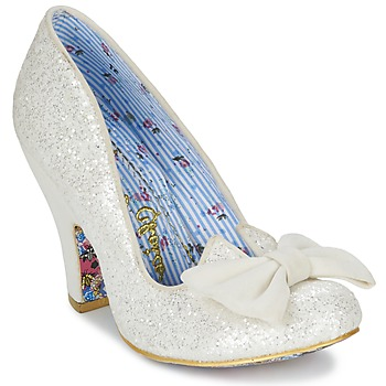 Schoenen Dames pumps Irregular Choice NICK OF TIME Wit / Pailletten
