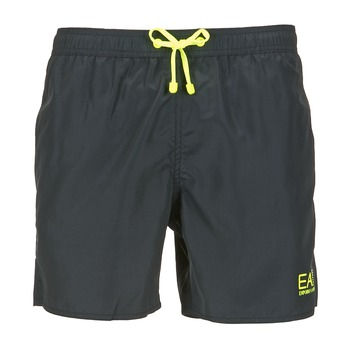 Textiel Heren Zwembroeken/ Zwemshorts Emporio Armani EA7 BOXER BEACHWEAR Zwart
