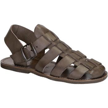 Schoenen Dames Sandalen / Open schoenen Gianluca - L'artigiano Del Cuoio 502 U FANGO GOMMA Fango