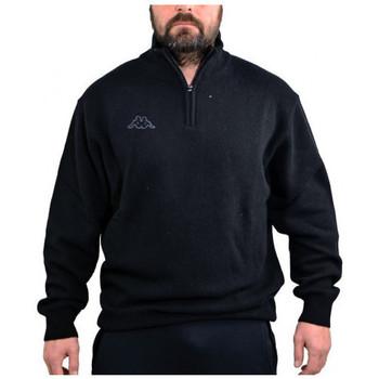 Textiel Heren Truien Kappa  Zwart