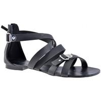 Schoenen Dames Sandalen / Open schoenen F. Milano  Zwart