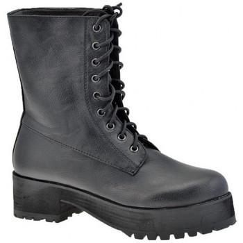 Schoenen Dames Laarzen F. Milano  Zwart