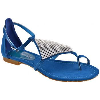 Schoenen Dames Teenslippers F. Milano  Blauw