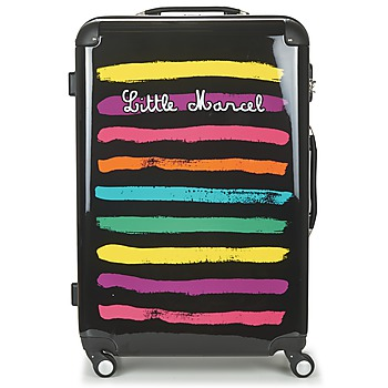 Tassen Dames Valise Rigide Little Marcel MALTE-75 Zwart / Multi
