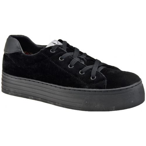 Schoenen Dames Lage sneakers F. Milano  Zwart