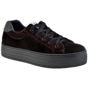 Schoenen Dames Lage sneakers F. Milano  Bruin
